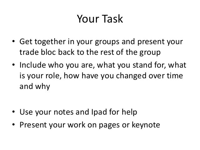 trading blocs essay Find essay examples trading blocs nafta - case study example let us find you another case study on topic trading blocs nafta case study for free.