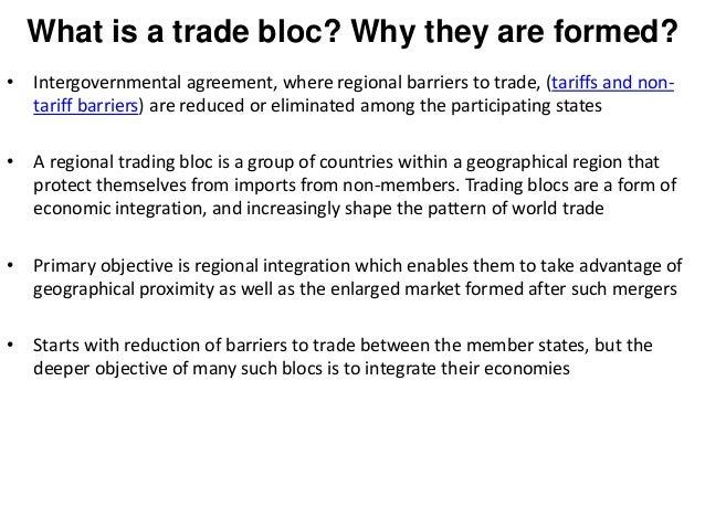 Trade Blocs In International Marketing European Union