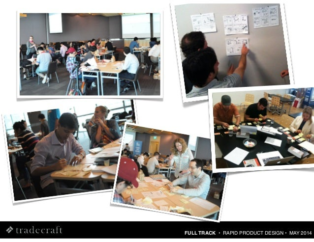 Rapid Product Design Using Lean UX Methods [Tradecraft : May 2014] Slide 3
