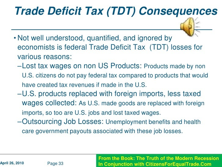 3 Reasons Why The Trade Deficit Is Bad For The Economy