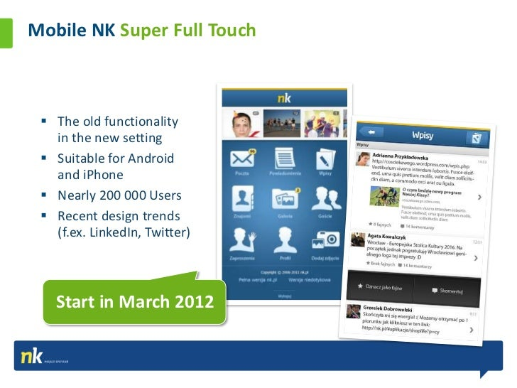 Mobile NK Key Figures                                               nearly                                               1...