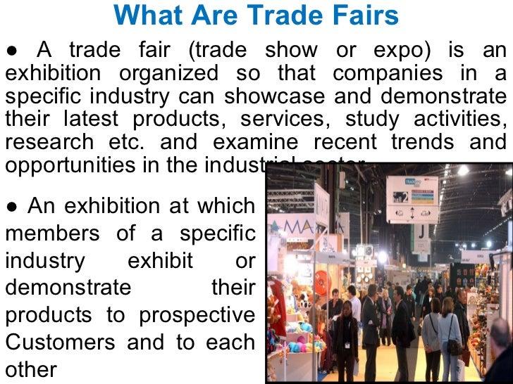 Trade fairs Slide 2
