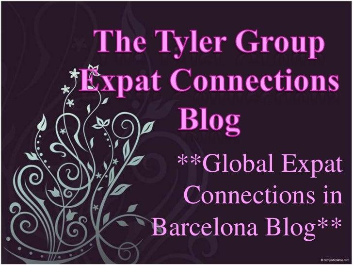 **Global Expat   Connections inBarcelona Blog**