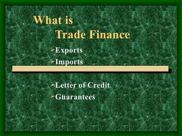 Trade Finance Basics