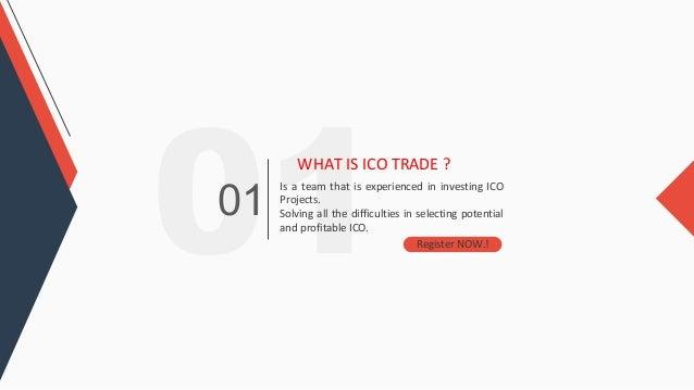 Trade Coin ICO plan Slide 3