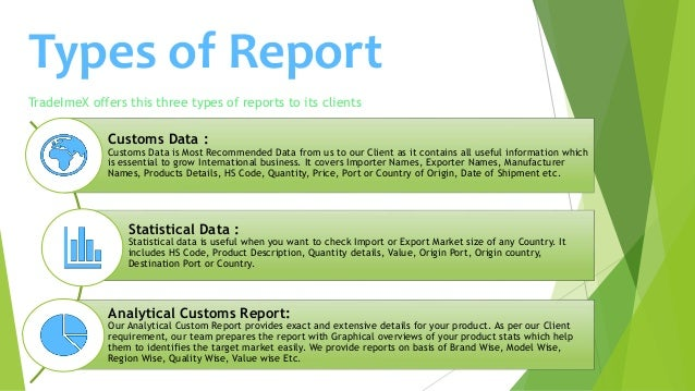 TradeImeX - Import Export Data | Trade Data | Customs Data