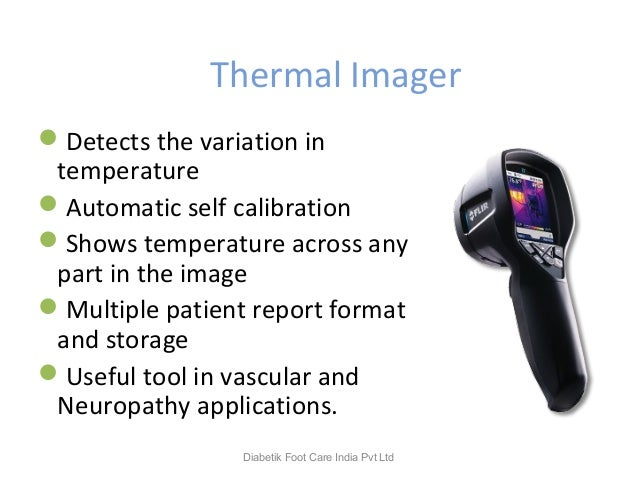 Thermal Imager Detects the variation in temperature Automatic self calibration Shows temperature across any part in the...