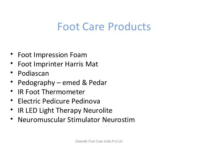 Foot Care Products • Foot Impression Foam • Foot Imprinter Harris Mat • Podiascan • Pedography – emed & Pedar • IR Foot Th...