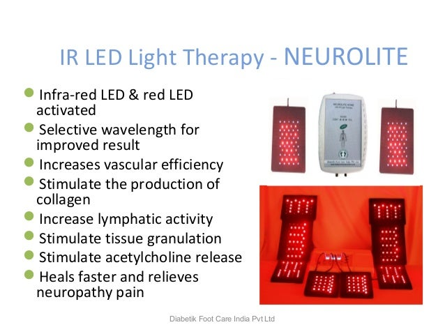IR LED Light Therapy - NEUROLITE Infra-red LED & red LED activated Selective wavelength for improved result Increases v...