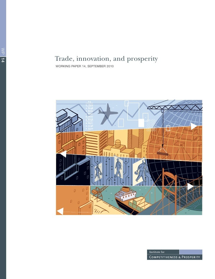 WP 14             Trade, innovation, and prosperity         Working PaPer 14, SePTeMBer 2010