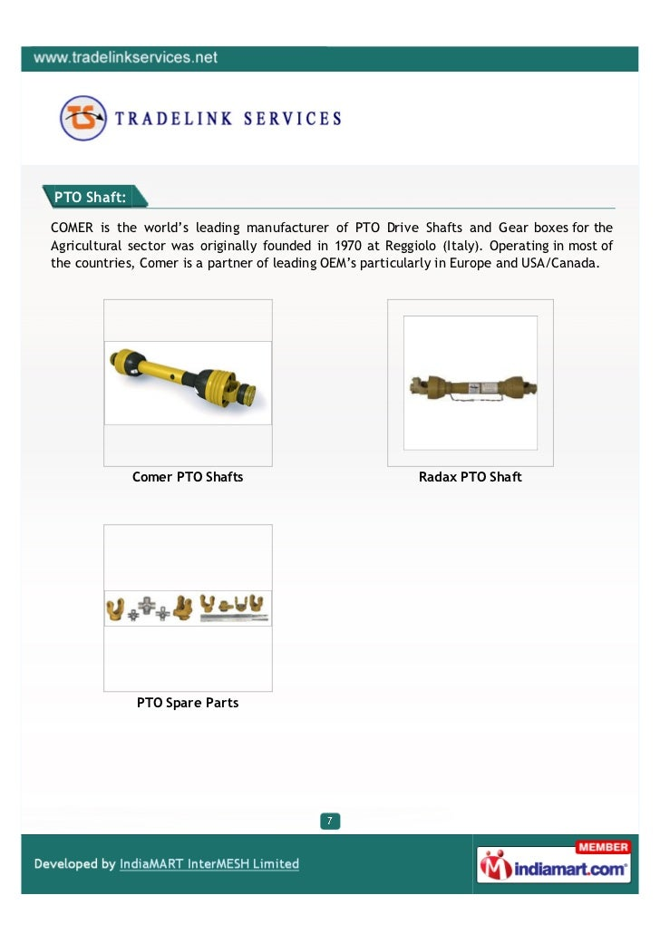 Tradelink Services, Chennai, Universal Joints