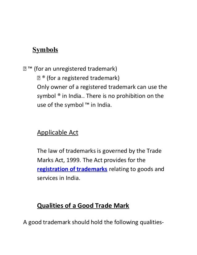 Use Of Registered Trademark Symbol In Text Images Meaning Of This