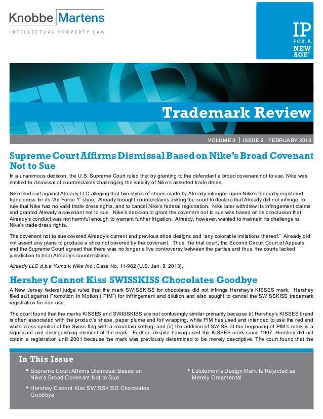 VOLUME 2 | ISSUE 3               MARCH 2012                                                                   Trademark R...