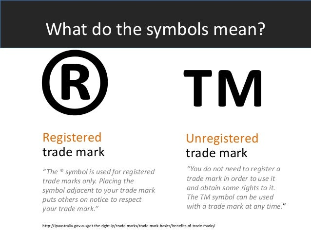 Pending Trademark Symbol