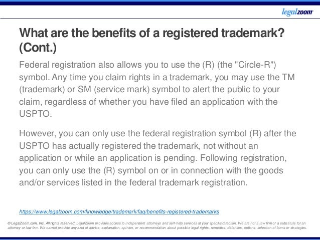 Trademarks Frequently Asked Questions Legal Zoom