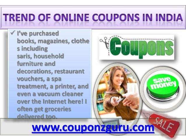Online discount coupons india