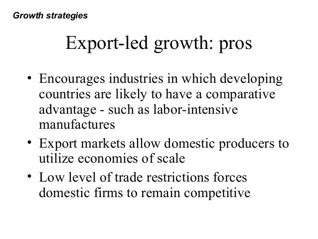 Export-Led Growth Strategies Through History