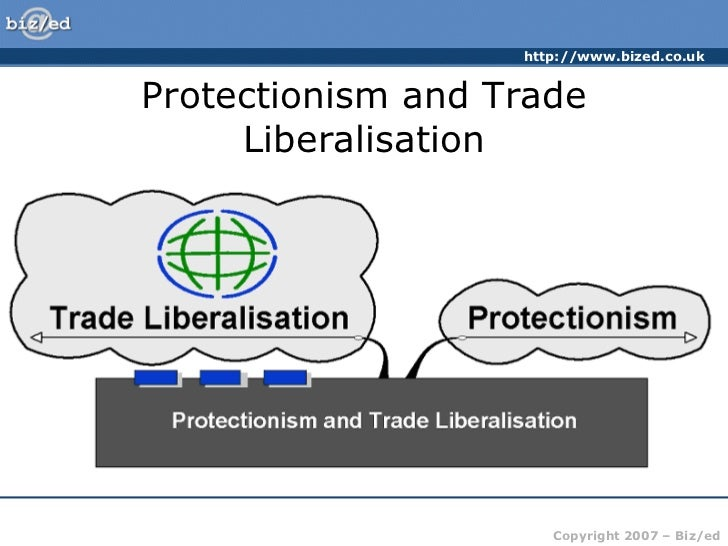 disadvantages of trade liberalization