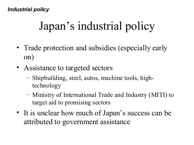 protection policy in international trade