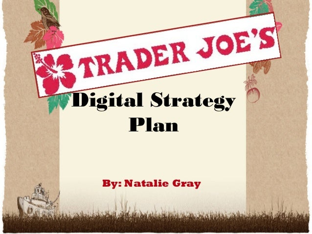 Digital Strategy Plan By: Natalie Gray