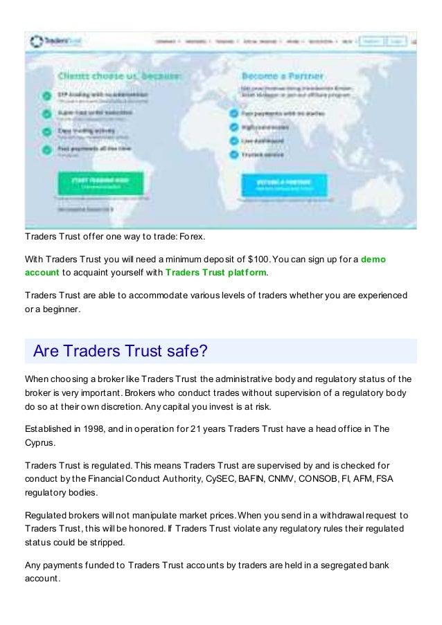 Traders Trust Broker Review