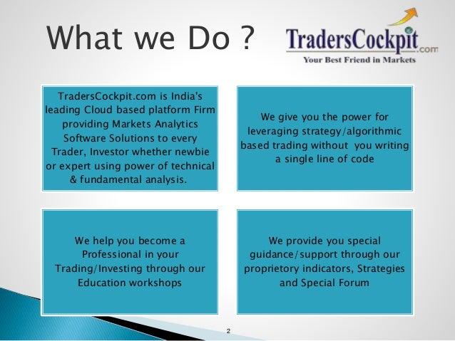 Traders Cockpit Product Details Slide 2