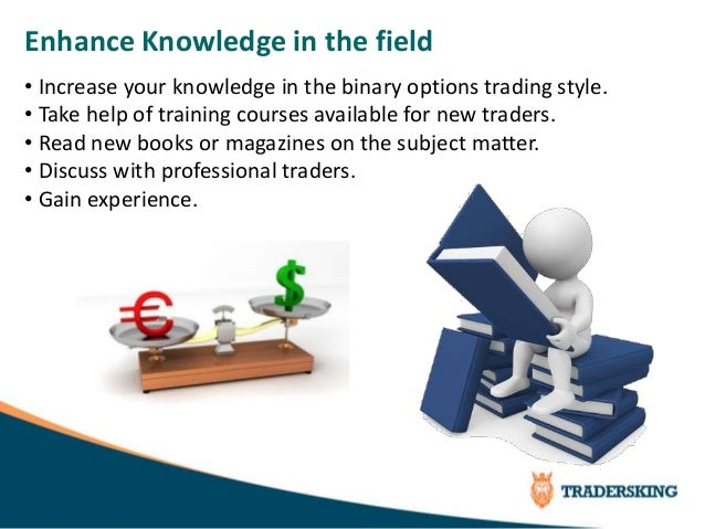 Master binary options trading
