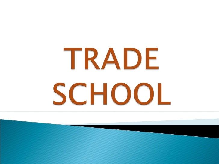 trade schools career schools or vocational schools offer programs that focus on providing graduates