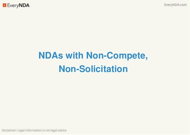 Trade Secret Agreements V Ndas