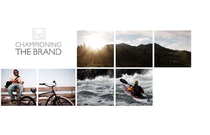 Championing The Brand