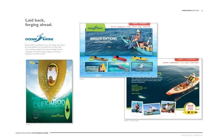 OCEAN KAYAK Case stuDy                    18                 Laid back,             forging ahead.                ocean Ka...
