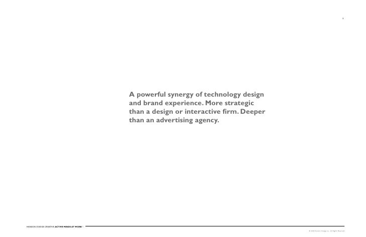 3                                                   A powerful synergy of technology design                               ...