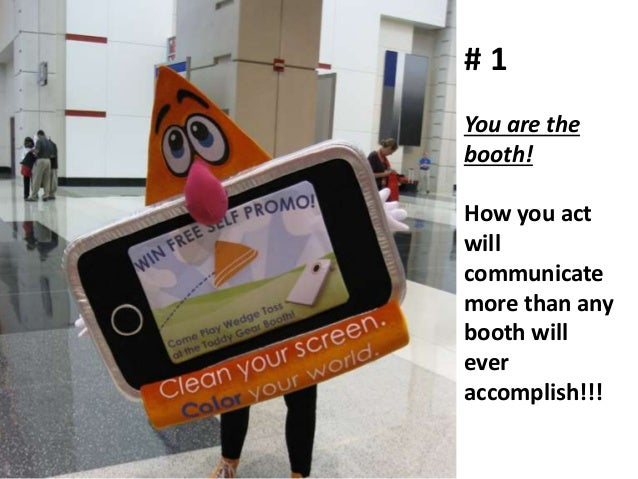 Trade Show Booth Etiquette : Tradeshow etiquette how to not suck at your trade show tips on hou