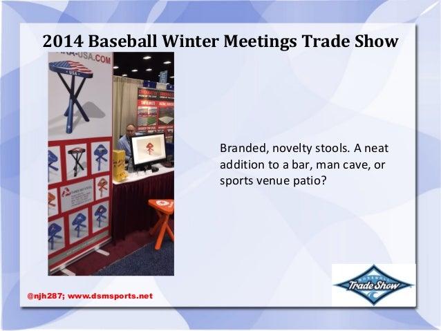 Man Cave Trade Show : Baseball winter meetings trade show of