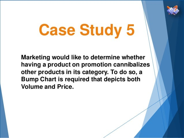 Case Study 5 Marketing would like to determine whether having a product on promotion cannibalizes other products in its ca...