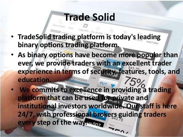 Based trading software Web