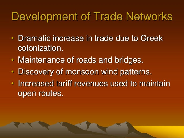 Expansion of Trade and Exchanges: c. 600 CE - c. 1450
