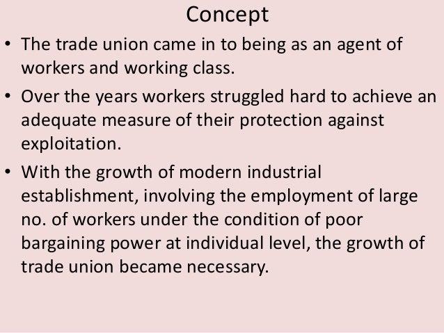 Trade union Slide 2