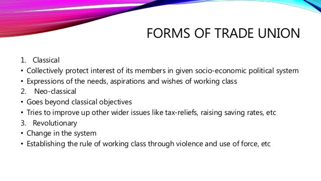 Trade union Slide 3
