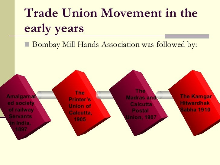 history of trade unions essay A brief history of unions  in the united states history of unions, early workers and trade unions played an important part in the role for independence.