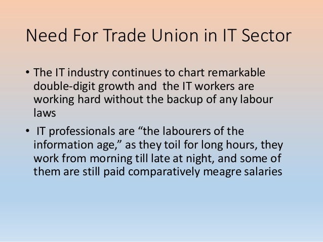 Trade union in service sector