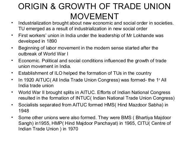 problems of trade unions in india Trade union in india is a product of peculiarities of colonial period the features  of  new dimensions and challenges to the union movement it struck at the.