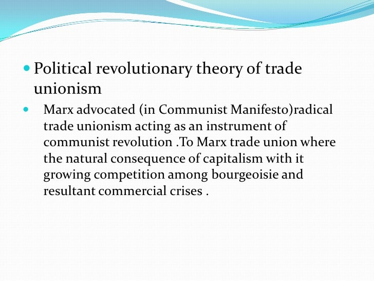 Democratic-socialist tradeunionism of webbsIn contrast to the Marxian view, Sindney and Beatrice  webbs envisaged workers'...