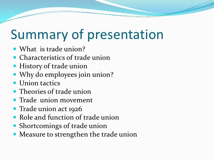 trade union essay Read this business essay and over 88,000 other research documents trade union вђunder the clockвђ™: trade union responses to computerized control in us and australian grocery warehousing.