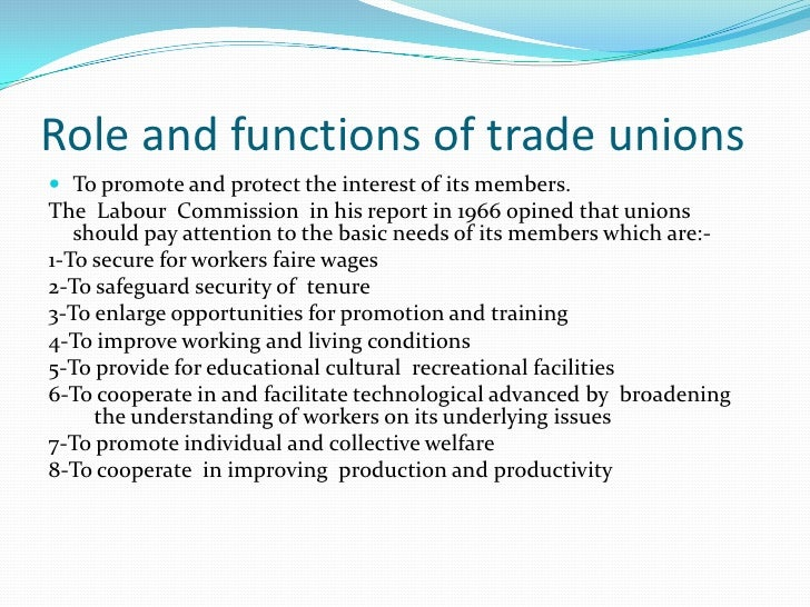 Shortcomings1.   Existence of large number of trade unions with small     membership2.   Limited area3.   Political rivalr...