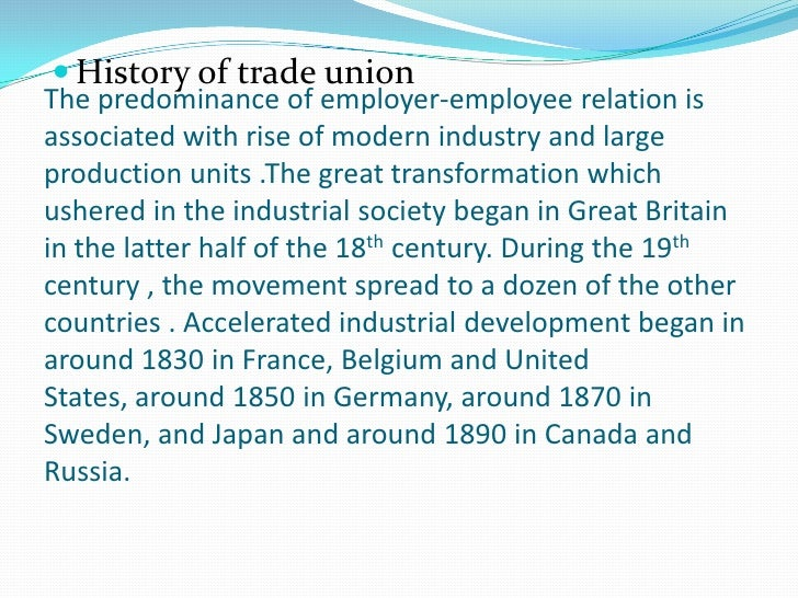 Why do Employees join Union ?Earlier, Workers use to join Unions to protect themselves  against: Exploitation by the mana...