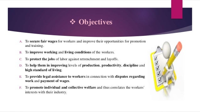 Trade union act, 1926 Slide 3