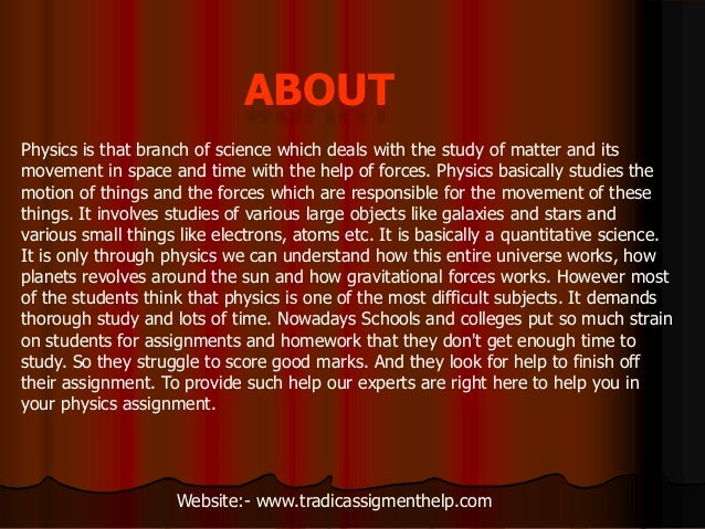 coursework for physics We write your essay a2 physics coursework help online dissertation youngstown state university best buy case study essays.