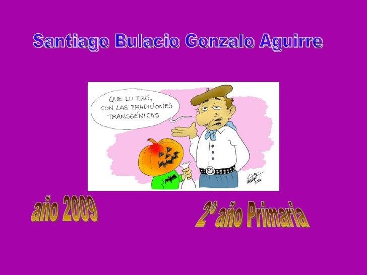 Santiago Bulacio Gonzalo Aguirre año 2009 2º año Primaria