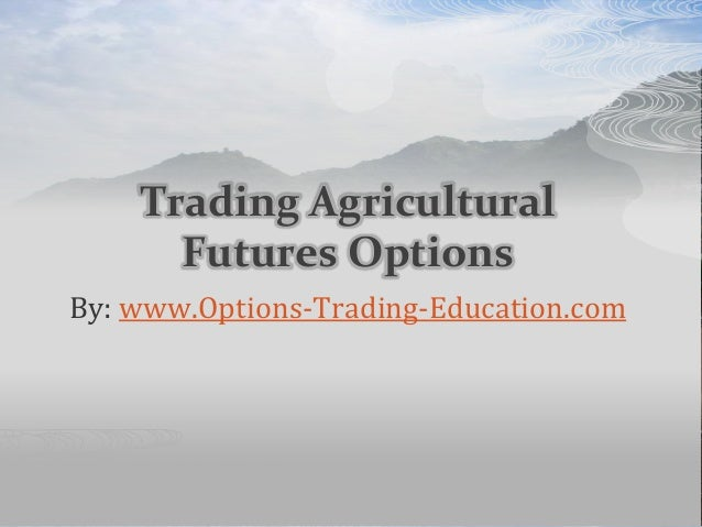 Futures options trading course